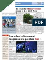 Atelier fluo + Vidéosurveillance au Clos Saint-Vigor