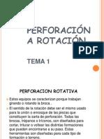 Perforacion a Rotacion