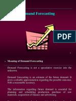 Demand Forecasting...