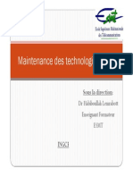 Cas Maintenance Des Technologies Xdsl 12