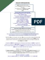ORAÇÃO FORTALECEDORA
