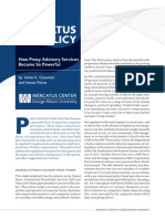 How Proxy Advisory Services Became So Powerful