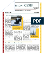 Cesis  Newsletter (Nov  2007)