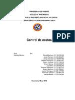 Completo Control de Costos Directos o Indirectos
