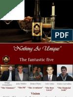 pitch presentation nau beer final