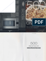 Cocina - 500 Recetas Vegetarianas de Microondas