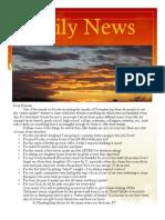 December Newsletter 2009