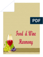 Food and Wine Harmony