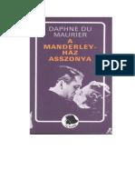 Maurier, Daphne Du_A Manderley-ház Asszonya