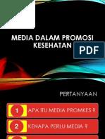 Media Dalam Promosi Kesehatan