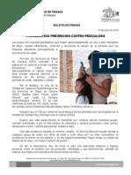 17/06/14 PROMUEVE SSO PREVENCIÓN CONTRA PEDICULOSIS