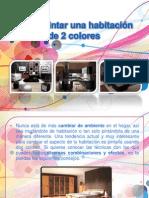 Cómo Pintar Una Habitación de 2 Colores