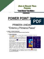Iniciar y Cerrar PowerPoint