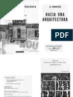 Hacia Una Arquitectura Le Corbusier