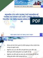 Nghien Cuu Xay Dung Thu Nghiem He Thong Do Danh Gia Chat Luong Dich Vu Truyen Tai 3G v1.0