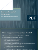 Drug and Alcohol Awareness Presentation