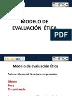 Modelo de Evaluación Ética