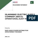 IESCO Audit Report