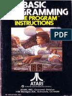 Basic Programming 1979 Atari US Text