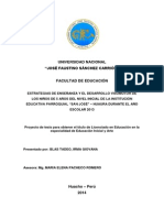Estrategias de Enseñanza y Desarrollo Visomotor