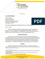 June 18, 2014 SEC FOIA Appeal Re WH Equities