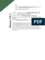 Reference Sheet - H-I-II-1