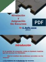 8. Nivelacion y Asignacion de Recursos II
