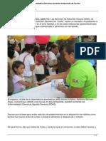 13/06/14 e Oaxaca Llama Sso a Prevenir Enfermedades Diarreicas Durante Temporada de Lluvias