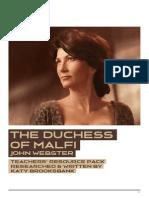 The Duchess of Malfi - Teachers' Pack
