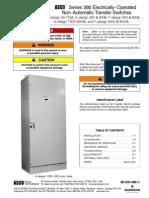 260-400 Serie 386 Manual