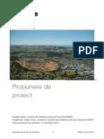 Propunere de Proiect - Admitere Doctorat