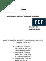 """""""Metodología para el Análisis y Planteamiento del Problema"""""""