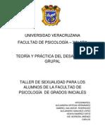 Trabajo Completo Del Taller de Sexualidad[2]