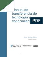 Manual de Transferencia de Tecnologia y Conocimiento 101208092607 Phpapp02