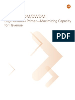 WDM CWDM DWDM Segmentation Primer