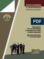 009 Operaciones Con No Domicialiados y Convenios Para Evitar La Doble Imposición