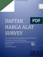 Harga Alat Survey Total Station Theodolite Gps Accesories [Cv Jual Alat Survey Sejahtera 081323264262] [Juni 2014]