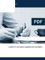 Comprendre Les Mysteres de Limpot Sur Les Fonds Communs de Placement