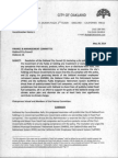 Oakland City Council Divestment Resolution, Report