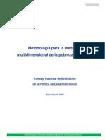 Metodologia Para Mediciòn Multidim en Mèxico