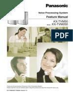Tvm Admin Manual Kxtvm50