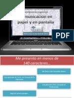 Semana 6 - Microblogging.pptx