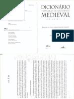 Dicionário Temático Do Ocidente Medieval I- Jacques Le Goff