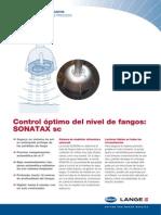 Sonda Para Nivel de Fangos SONATAX Sc
