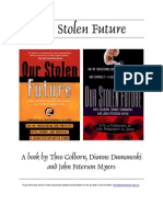 Our Stolen Future Theo Colborn