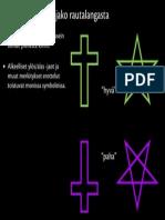 Pahat ja hyvät symbolit