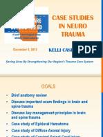 Case Studies in Neuro Trauma SCRTAC