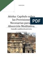 Atisha Capítulo Sobre Las Provisiones Necesarias Para La Absorción Meditativa.