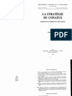 54753744 Laurent Bove La Strategie Du Conatus