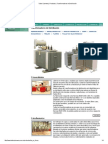 Tadeo Czerweny _ Productos _ Transformadores de Distribución